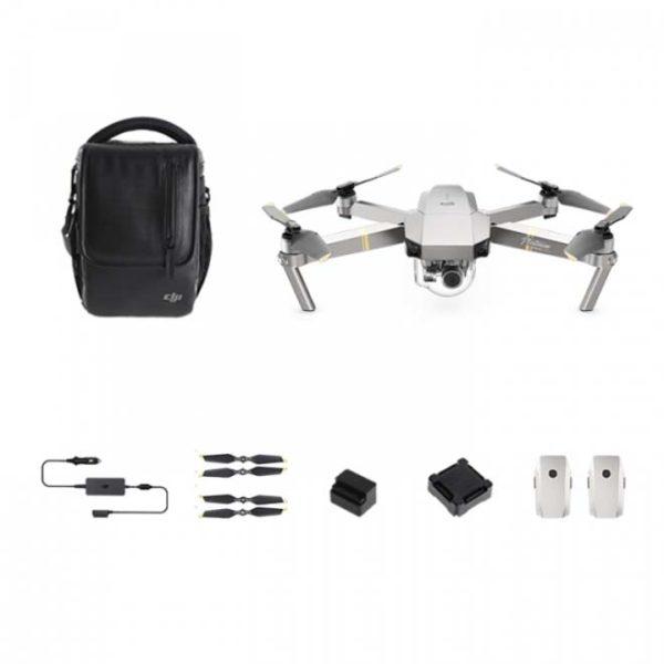 DJI Mavic Pro Platinum Fly More combo Drone - DJI Mavic Pro Platinum series