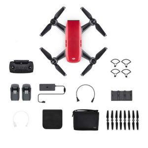 DJI Spark Fly More Combo Rood Drone - DJI Spark series