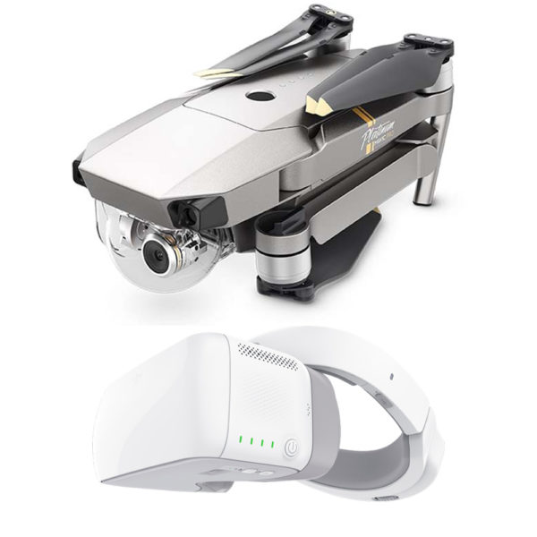 DJI Mavic Pro Platinum & DJI Goggles Drone - DJI Mavic Pro Platinum series