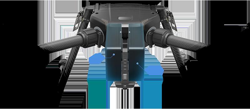 Matrice 210 - dual batteries