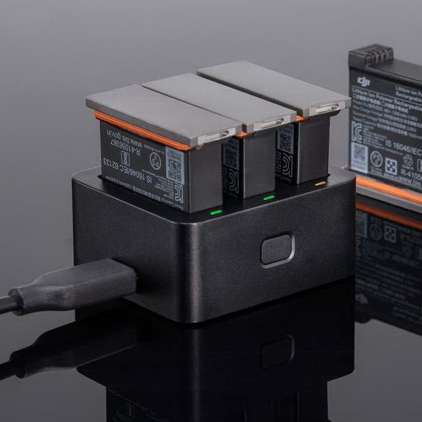 DJI Osmo Action Charging Kit (Part 06) Oplader - DJI Osmo Action series